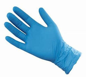 3.5 Mil Blue Nitrile Textured Powder Free Nitrile-Norton Supply