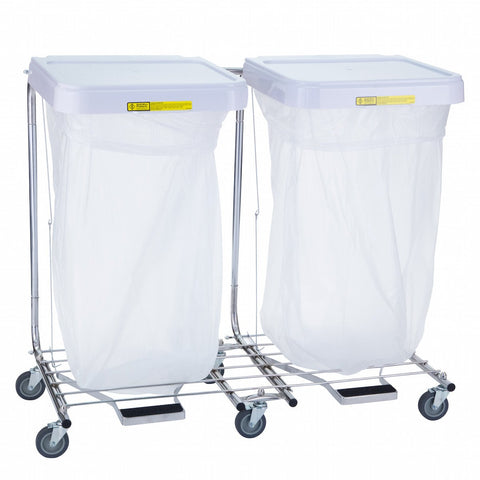 Double Medium Duty Hamper Stand-Norton Supply