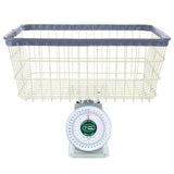 R&B Wire RB40C Analog Display Laundry Scale - 40 lb.-Norton Supply