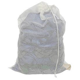 Laundry Net White 30x40 With Draw Cord-Norton Supply