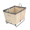 Canvas Small Basket - 3 Bu-Norton Supply