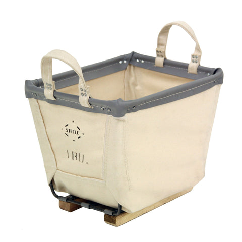 Canvas Small Carry Basket - 1 Bu-Norton Supply