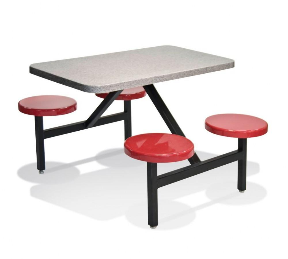 Indoor/Outdoor Seat-Tables Units STF-2444-Norton Supply