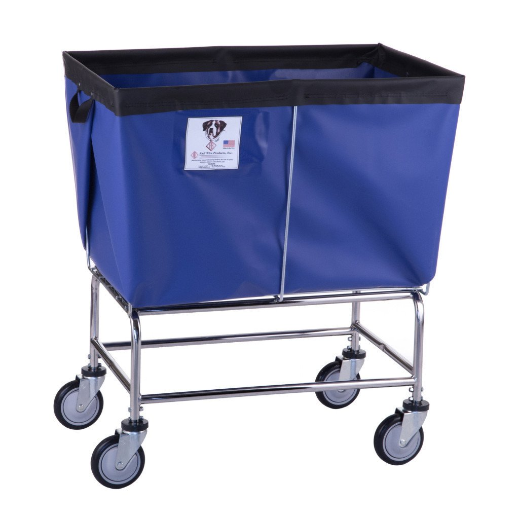 Fully Sewn Elevated Basket Truck With Vinyl/Nylon Liner - 6 Bushel-Norton Supply