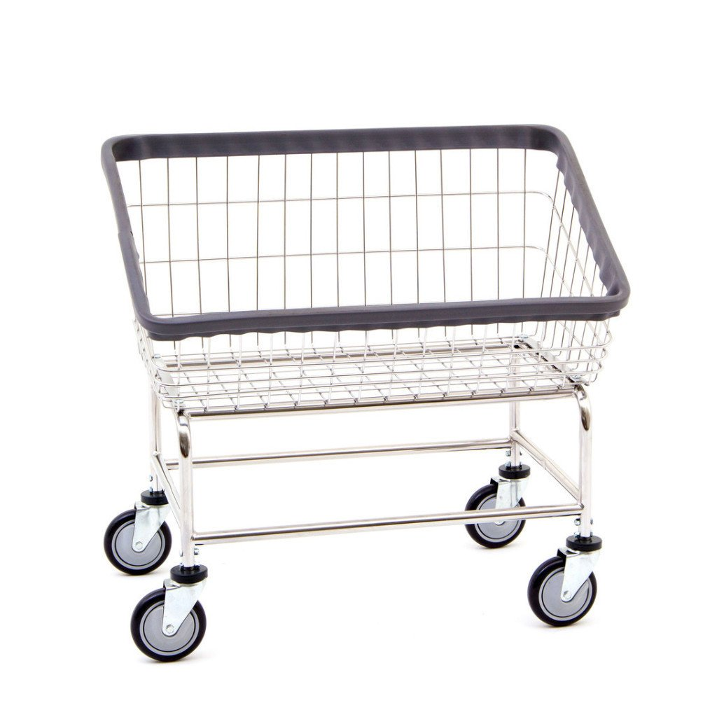 Large Capacity Front Load Laundry Cart-Norton Supply