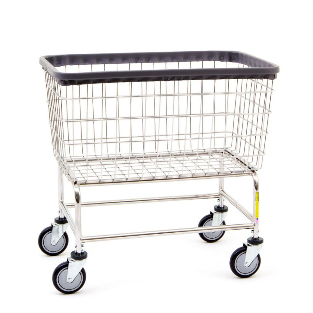 R&B Wire | Wire Laundry Carts | Large Capacity Laundry Cart – Norton ...