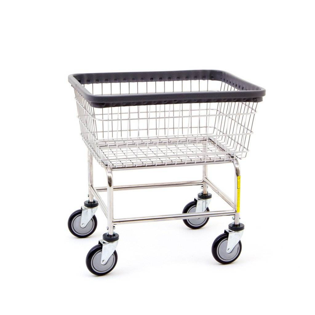 Narrow Laundry Cart-Norton Supply