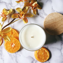 Orange + Orchid Limited Edition - Peripeti Candles, Candle - Soy Candles, Peripeti Candles - Peripeti Home, Peripeti Candles - Peripeti Candles