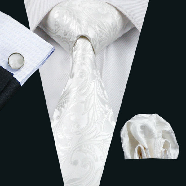 Barry Wang Classic Men's Tie Set