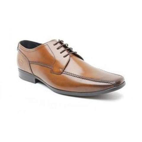 Base London lace up brown leather shoe