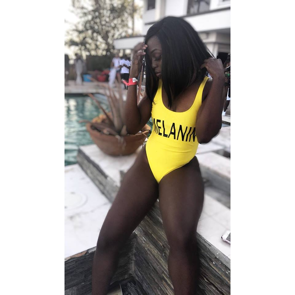 ef93c545150d5 ... Melanin Poppin Yellow One Piece Swimsuit - Haute Sista