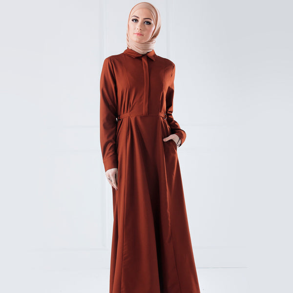 D-Ring Abaya - Anaya Clothing