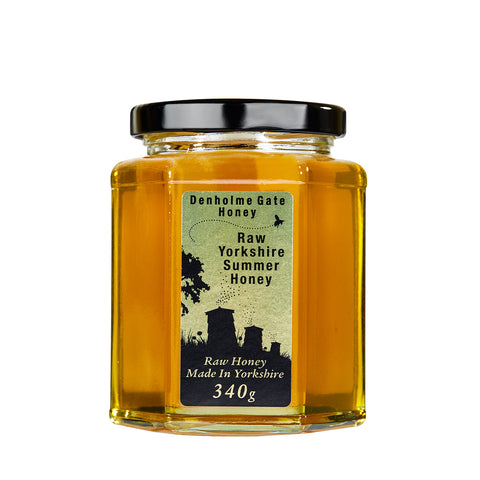Raw Yorkshire Summer Honey 340g