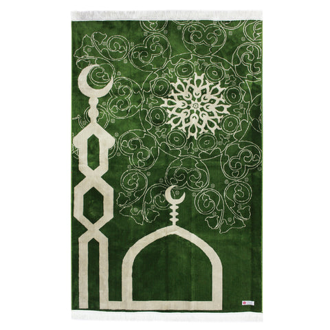 4ea0194d2 Large Minwal Prayer Mat made in Madina - Jamea