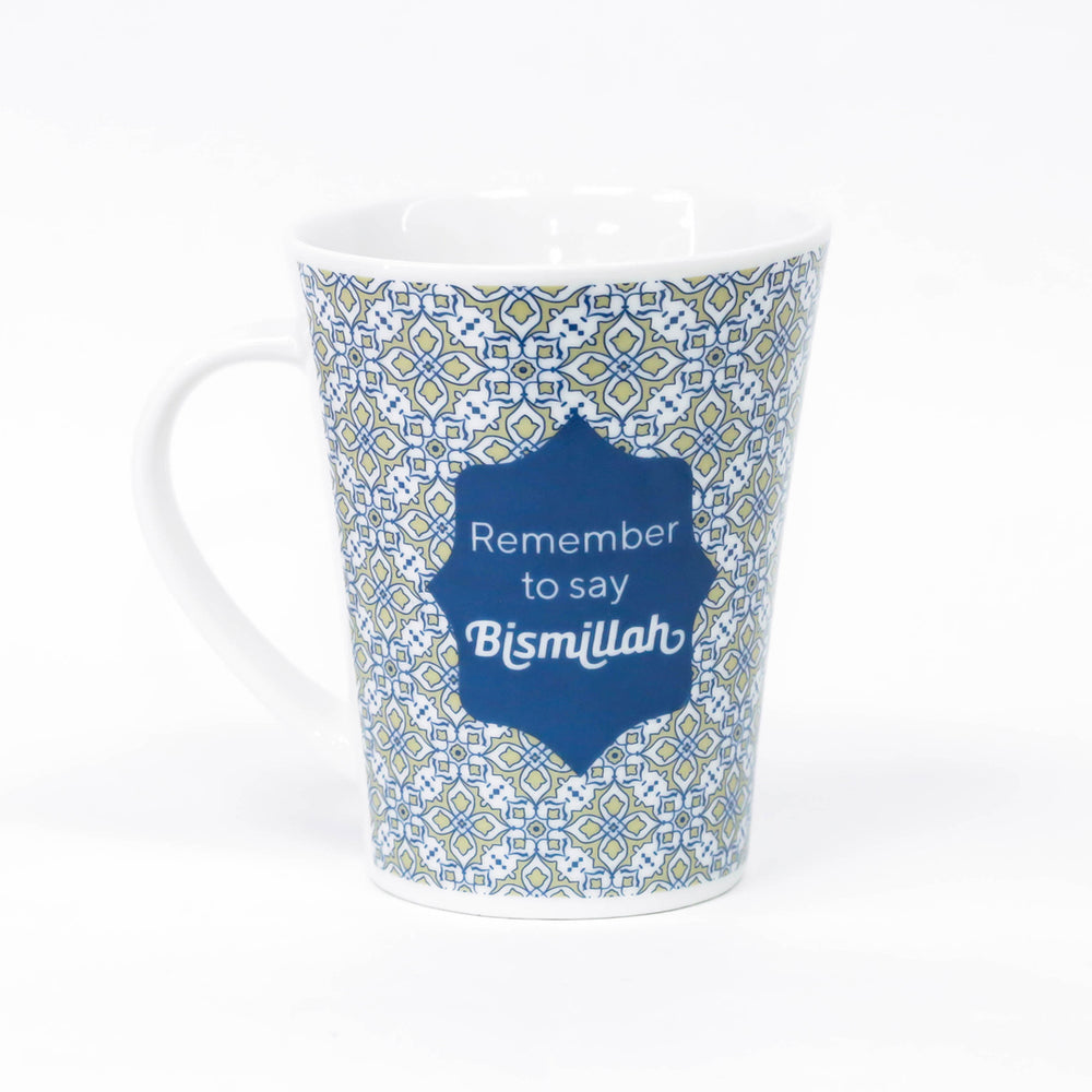 Bismillah Arab Islamic Mug - 4 Colours