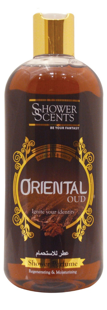 SHOWER SCENTS Perfume Gel Oriental Oud 250ml