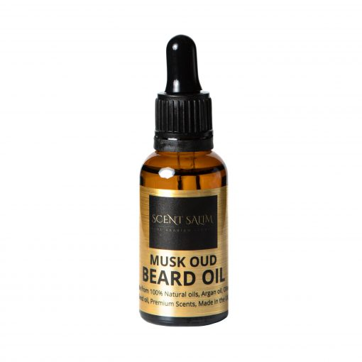 SCENT SALIM Musk Oud Beard Oil 30ml