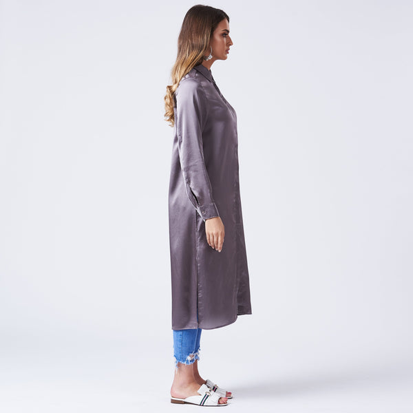 FAITH SHIRT DRESS - Anaya Clothing