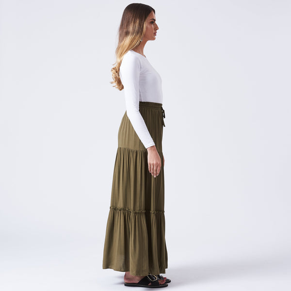HIRA MAXI SKIRT - Anaya Clothing