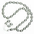 33 CHROME MEDIUM BEAD TASBEEH / PRAYER BEADS
