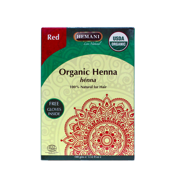 Organic Henna Powder Red 100gsm