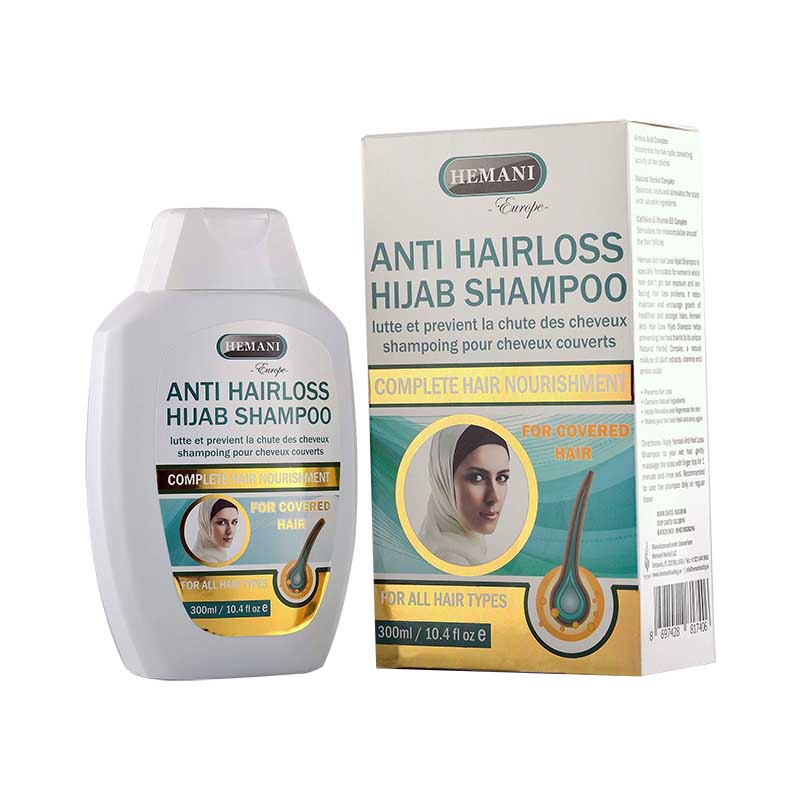 HEMANI Anti Hair Loss Shampoo For Hijab Women 300ml