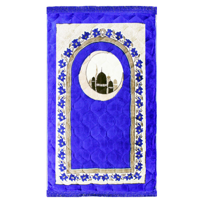 Luxury Soft Padded Large Thick Prayer Mat 4 Colours