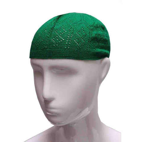 GREEN PRAYER HAT