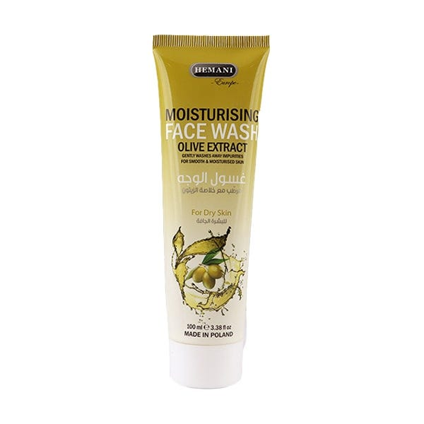 HEMANI Moisturizing Face Wash With Olive Extract 100ml