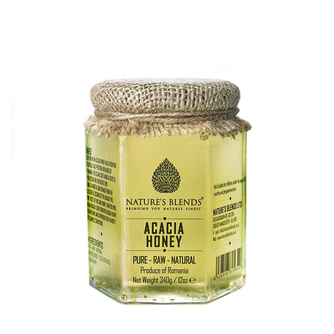 Pure Raw Natural Acacia Honey 340g