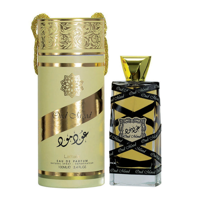 Lattafa Oud Mood Gold Perfume Spray 100ml EDP