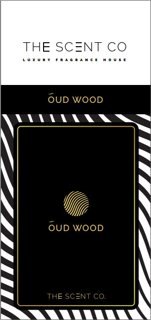 Oud Wood Car Air Freshener by The Scent Co