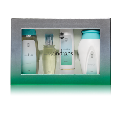 RAINDROPS GIFT SET FOR WOMEN BY AJMAL