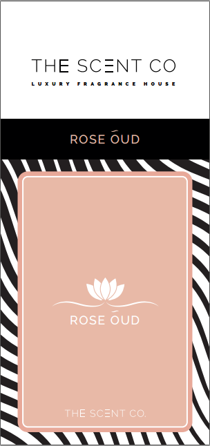 Rose Oud Car Air Freshener by The Scent Co