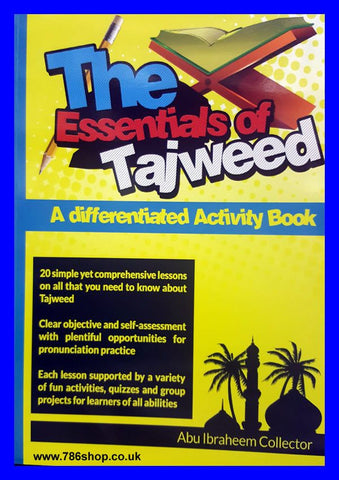 The Essentials of Tajweed (Activity Book)