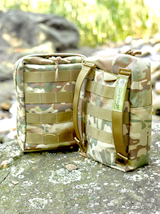 Bivouac Molle Pouch Combo Set ( Biv Bag + Mini First Aid Kit)
