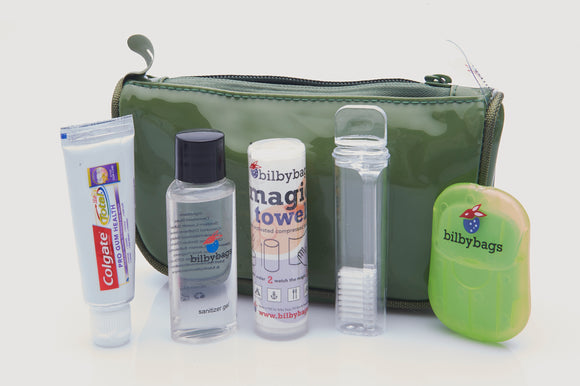 Toiletry Bag - Equipped with Basics