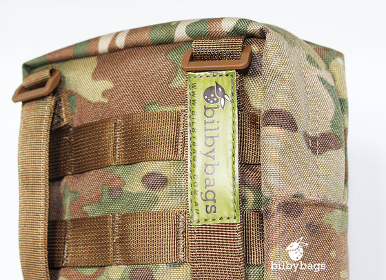 Bilbybags Auscam Military Molle Biv Bivvy Bivi Camo Bag Back