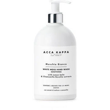 White Moss Hand Soap by Acca Kappa