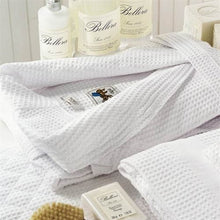 Bellora Waffle Weave Spa Robe - Unisex (White)