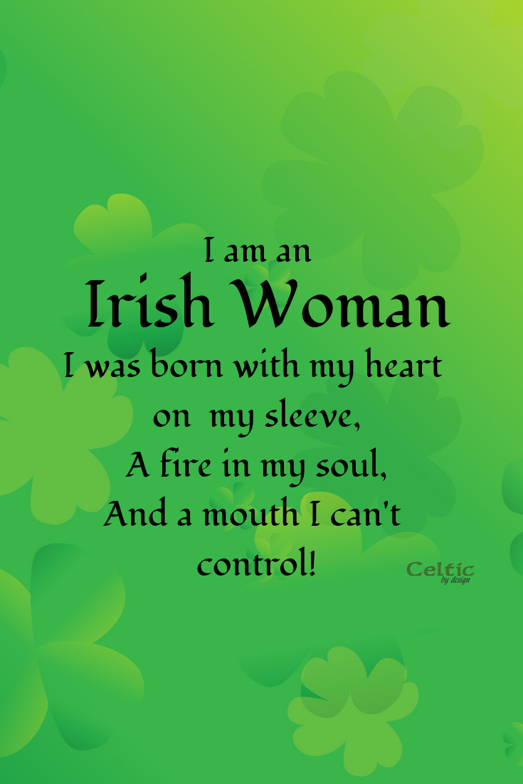 Irish Woman Post