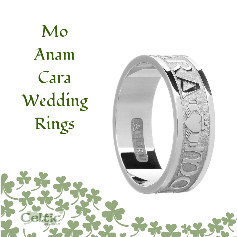 article on Mo Anam Cara Wedding rings
