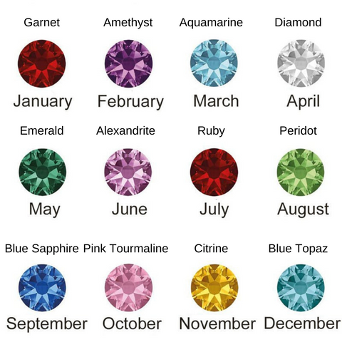 birthstone gems