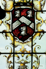 Heraldry blog image stained glass windo