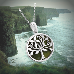 connemara marble tree of life pendant giveaway