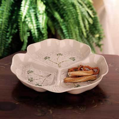 Belleek Fortunes Party Dish
