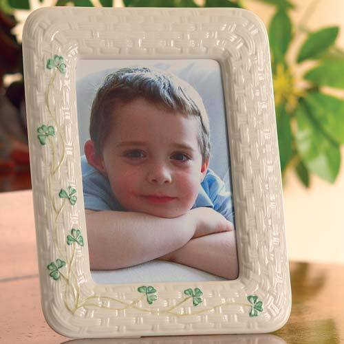 "Shamrock 5"" x 7"" Photo Frame"