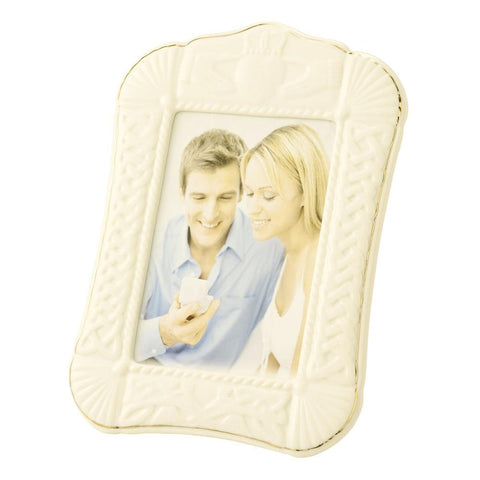 Belleek 5x7 picture frame