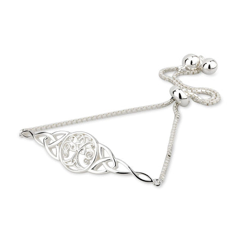 Sterling Silver Celtic Tree of Life Bracelet