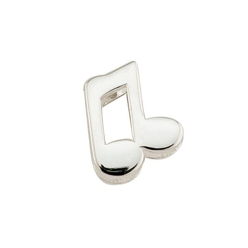 Sterling Silver Music Note Celebration Charm
